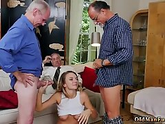 Japan old man Molly Earns Her Keep - Mae White