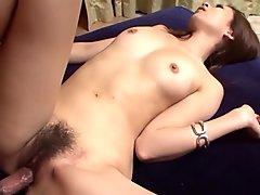 Cock enters wet vagina