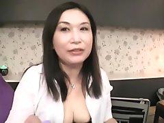 Fabulous Japanese slut in Hottest Mature, Blowjob JAV video