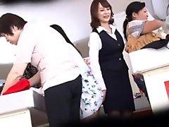 Japanese Bargain Shop Lesbian Molested