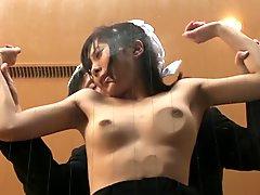 Crazy Japanese girl in Fabulous Blowjob, Fetish JAV video