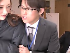 Incredible Japanese chick in Best Threesome, Teens JAV clip