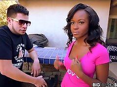 Black Girl Phat Ass get Anal Sex