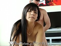 PureMature Hot woman gets anal creampied