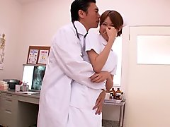 Crazy Japanese model in Incredible HD, Nurse JAV movie