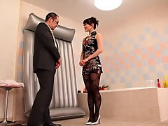 Fabulous Japanese whore in Horny Shower, HD JAV movie