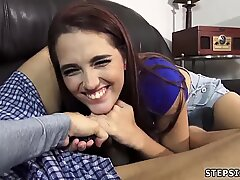 Tiny teen huge cock Since mom and dad were gone, they proceeded to screw like - Brooke Haze