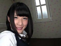 Fabulous Japanese slut in Crazy Teens, Close-up JAV movie