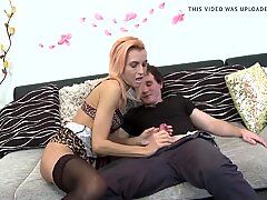 sloppy mature mom suck and nail successful son