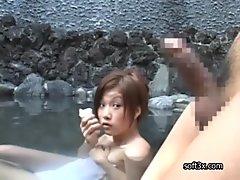 Sex at onsen