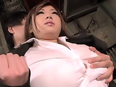 Best Japanese girl in Incredible Big Tits, MILF JAV movie