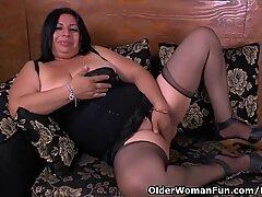 Latina milf Laura has her wicked ways