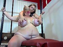 OldNanny Big boobs fat mature and big boobs fat granny